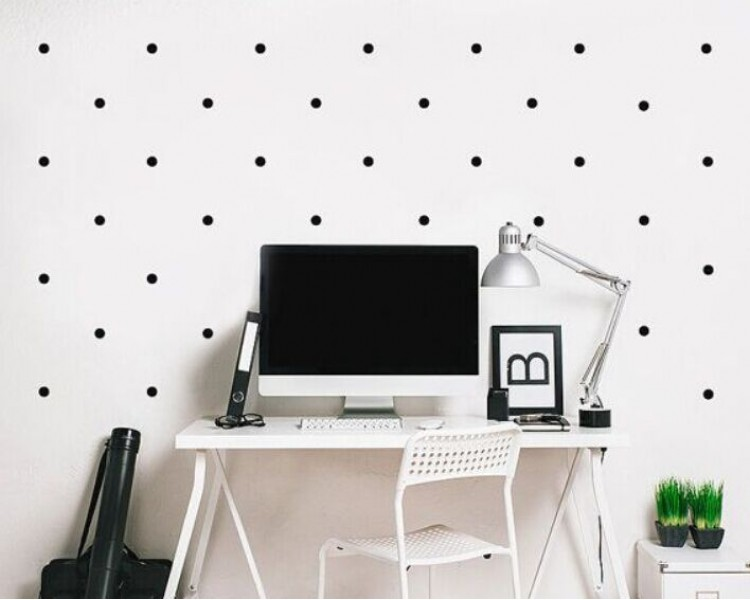 Dots Wall Decal Pattern Wall Decal Nursery Modern Vinyl Sticker - Wall decals in nursery