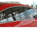 Lovely Figures Wall Decal Car Sticker Modern Vinyl Wall Decals