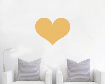 Love Heart Wall Decal Baby Nursery Modern Vinyl Sticker