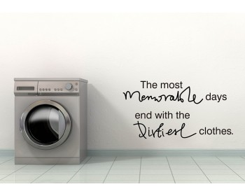 The Most Memorable Days Quote Wall Stickers Home Lettering Laundry Quote Wall Decal