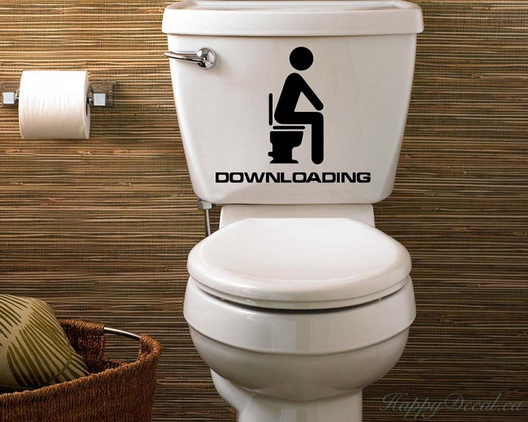 Loading Bathroom Wall Decal
