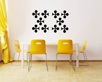 Plum Blossom Pattern Wall Decal Baby Nursery Modern Vinyl Sticker