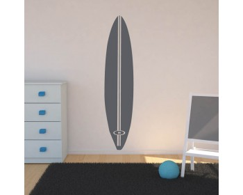 Retro Surfboard Vinyl Wall Decal Sticker - Surfboard Decal