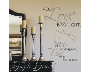 Your Love Is My Light...