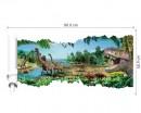 Jurassic Dinosaur World Wall Sticker