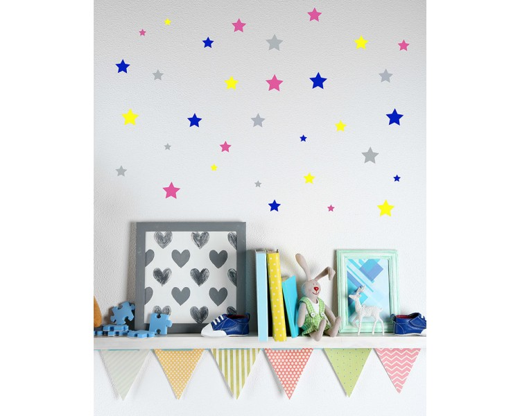 Cute Little Stars Wall Decal
