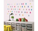 Raindrop Vinyl Wall Stickers