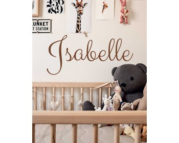 Customized Name  Nursery  Sticker