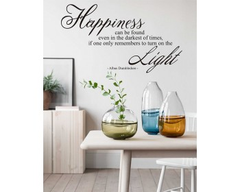 Harry Potter Quote Decal- Happiness Can Be Found