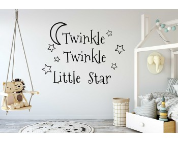 Twinkle Twinkle Little Star Decals