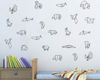 Origami Animals Decal