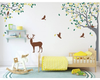 Corner Tree Decal