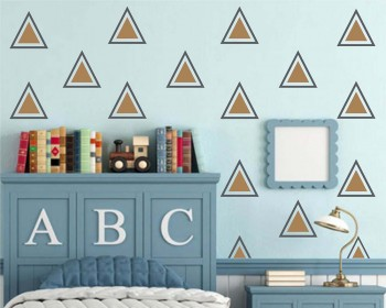 Two Colour Triangle Decals