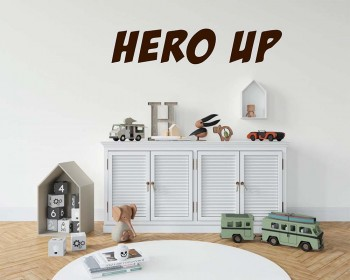 Hero Up Wall Decal Super Hero Squad Decor