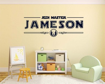 Jedi Master Personalized Wall Decor