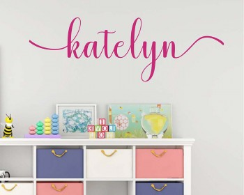 Nursery Personalized Wall Decal
