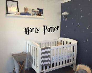 Harry Potter Inspired Font Personalized Name Decal