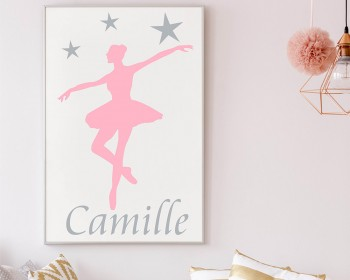 Personalised Ballerina With Name