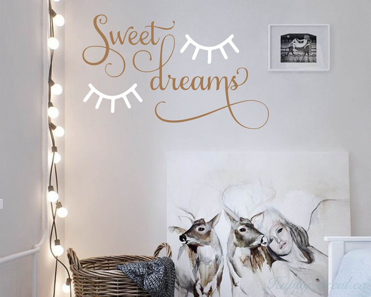 Sleepy Eyes Nursery Quote