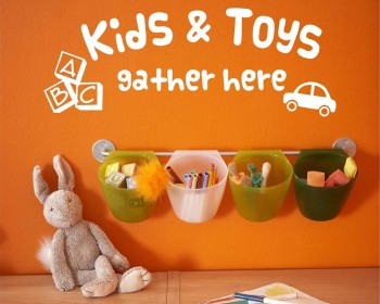 Kids and Toys Gather Here