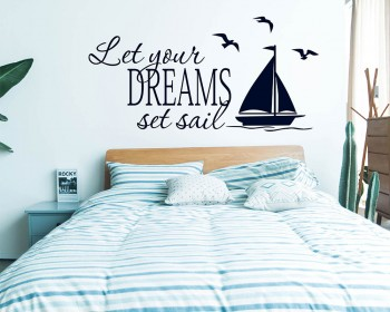 Nautical sailing wall decor