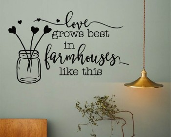 Farmhouse Home Decor Wall Decal