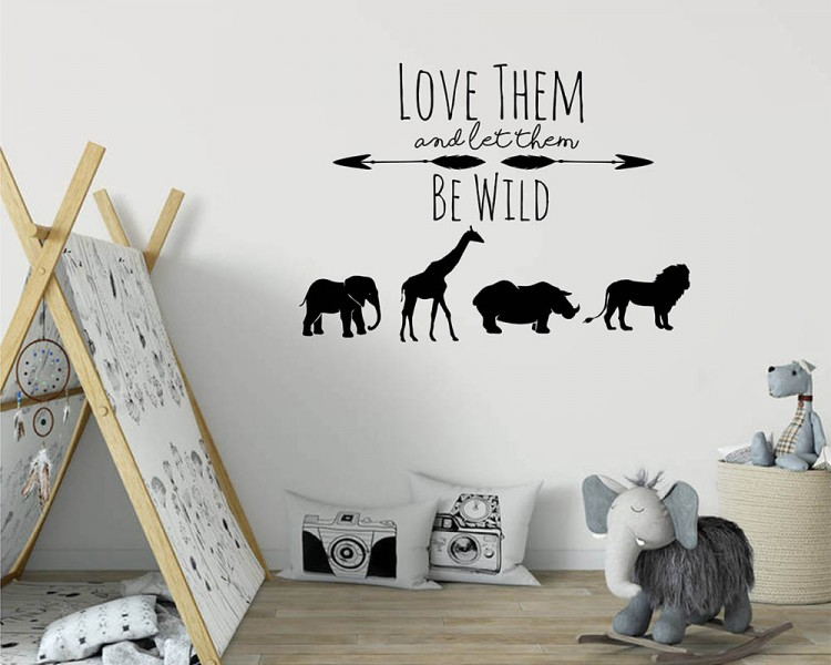 Animal Themed Adventure Decal