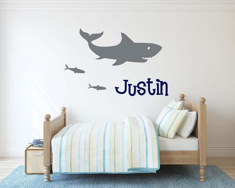Shark With Name Decal