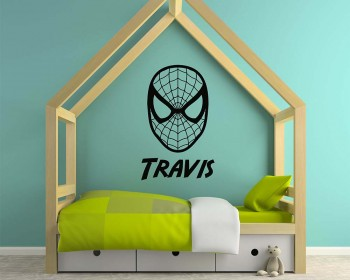 Spider Man Name Decal