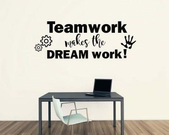 Teamwork Office Decal