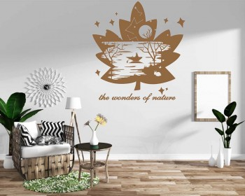 Maple Leaf Wall Decal