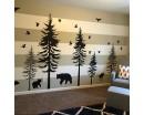 Large Woodland Pine Tree Decals