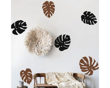 Monstera Leaves Wall Decal