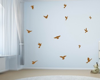 Birds Decal Lovely Animal Vinyl Wall Stickers