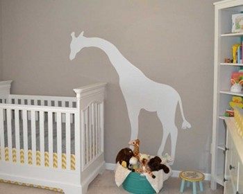 Giraffe Wall Decal Animal Stickers For Nursery