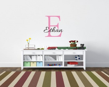 Customized Name Wall Decal Vinyl Name For Children