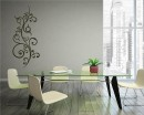 Floral Vine Vinyl Art Decals Modern Wall Art