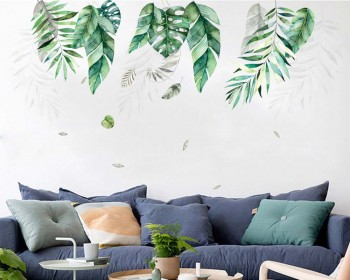 Removable Tropical Plants Wall Sticker