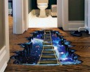 Galaxy Bridge Floor Art