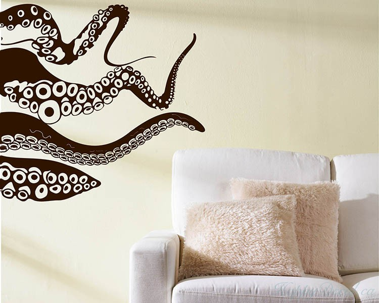 Octopus Vinyl Decal Part 69