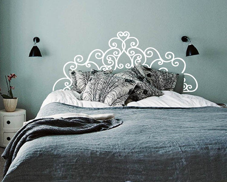 Headboard Vinyl Decal
