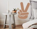 Victory Sign Nursery Vinyl Decal Children Sticker