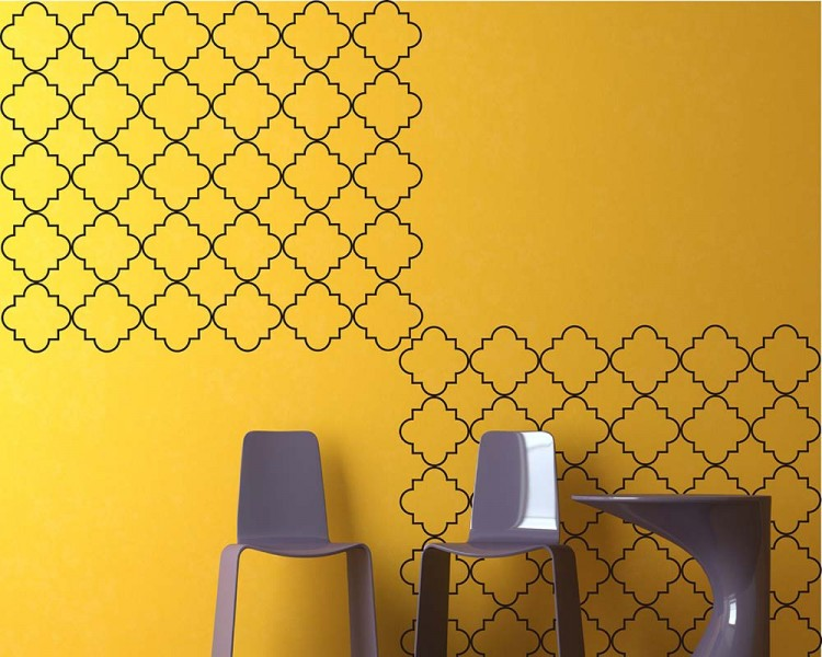 Moroccan Seamless Pattern Decal