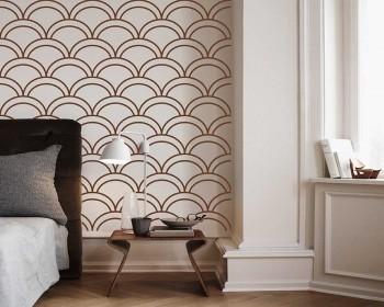 Stacked Seamless Pattern Decal Vinyl Modern Decals