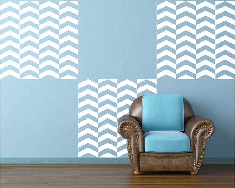 Chevron Seamless Pattern Decal