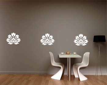 Damask Wall Pattern Decal Modern Vinyl Art Stickers