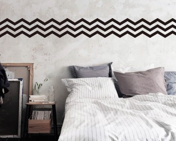 3 Chevron Stripes Wall Pattern Decal Modern Vinyl Art Stickers