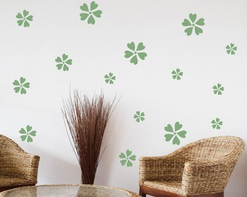 Sakura Pattern Wall Decal Nursery Modern Vinyl Sticker