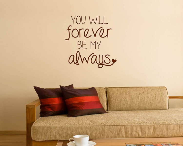 Love Quotes Wall Decals Custom You Will Quotes Wall Decal Love Quotes Vinyl Art Stickers