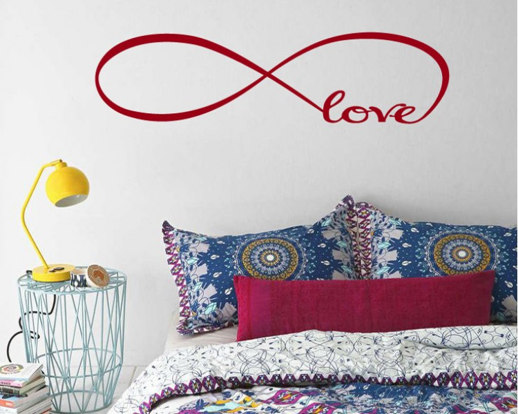 Infinity Love Quotes Interesting Love Quotes Wall Decal Quotes Vinyl Art Stickers